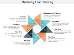 Marketing Lead Tracking Ppt Powerpoint Presentation Ideas Outfit Cpb