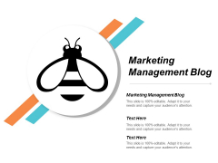 Marketing Management Blog Ppt Powerpoint Presentation Inspiration Pictures Cpb