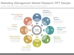Marketing Management Market Research Ppt Sample