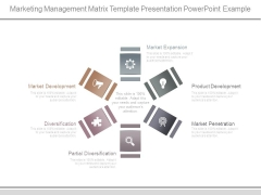 Marketing Management Matrix Template Presentation Powerpoint Example