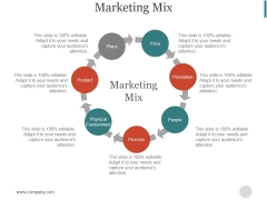 Marketing Mix Ppt PowerPoint Presentation Introduction