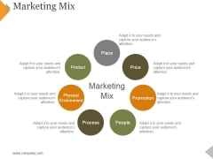 Marketing Mix Ppt PowerPoint Presentation Styles Example