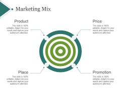 Marketing Mix Template 1 Ppt PowerPoint Presentation Slide Download