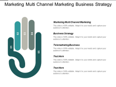 Marketing Multi Channel Marketing Business Strategy Telemarketing Business Ppt PowerPoint Presentation Model Background Cpb