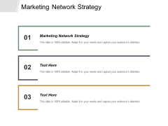 Marketing Network Strategy Ppt PowerPoint Presentation Outline Samples Cpb