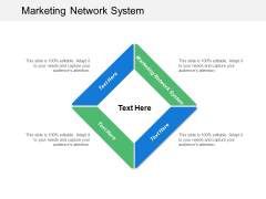 Marketing Network System Ppt PowerPoint Presentation File Show Cpb