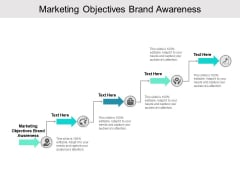Marketing Objectives Brand Awareness Ppt PowerPoint Presentation Infographics Outline Cpb