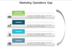 Marketing Operations Gap Ppt PowerPoint Presentation Infographics Graphic Images Cpb
