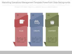 Marketing Operations Management Template Powerpoint Slide Backgrounds