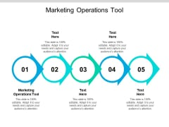 Marketing Operations Tool Ppt PowerPoint Presentation Pictures Templates Cpb
