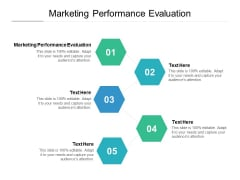 Marketing Performance Evaluation Ppt PowerPoint Presentation Inspiration Slides Cpb Pdf