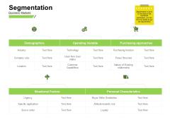 Marketing Performance Measurement Segmentation Attitude Ppt Ideas Graphics Pictures PDF