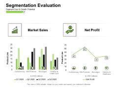 Marketing Performance Measurement Segmentation Evaluation Ppt Gallery Picture PDF