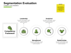 Marketing Performance Measurement Segmentation Evaluation Relationships Ppt Infographics Deck PDF