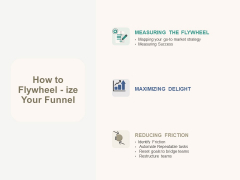 Marketing Pipeline Vs Cog How To Flywheel Ize Your Funnel Ppt Summary Slides PDF