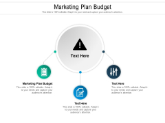 Marketing Plan Budget Ppt PowerPoint Presentation Professional Inspiration Cpb Pdf
