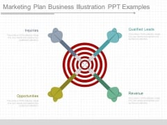 Marketing Plan Business Illustration Ppt Examples