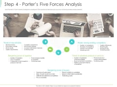 Marketing Plan Implementation Step 4 Porters Five Forces Analysis Ppt Slides Introduction PDF