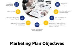 Marketing Plan Objectives Ppt PowerPoint Presentation Infographics Topics