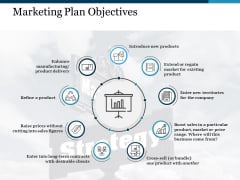 Marketing Plan Objectives Ppt PowerPoint Presentation Portfolio Influencers