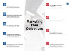 Marketing Plan Objectives Ppt PowerPoint Presentation Summary Samples