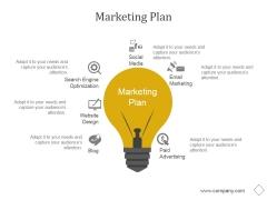 Marketing Plan Ppt PowerPoint Presentation Styles