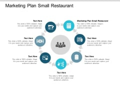 Marketing Plan Small Restaurant Ppt Powerpoint Presentation Portfolio Visual Aids Cpb