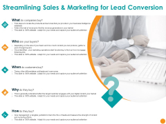 Marketing Plan Streamlining Sales And Marketing For Lead Conversion Ppt Outline Introduction PDF