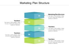 Marketing Plan Structure Ppt PowerPoint Presentation Slides Portrait Cpb
