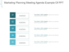Marketing Planning Meeting Agenda Ppt PowerPoint Presentation Visual Aids