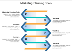 Marketing Planning Tools Ppt Powerpoint Presentation Outline Backgrounds Cpb