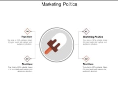 Marketing Politics Ppt Powerpoint Presentation Infographics Designs Cpb