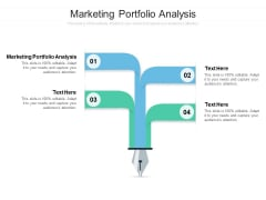 Marketing Portfolio Analysis Ppt PowerPoint Presentation Icon Inspiration Cpb