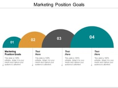 Marketing Position Goals Ppt PowerPoint Presentation Visual Aids Diagrams Cpb