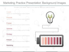 Marketing Practice Presentation Background Images