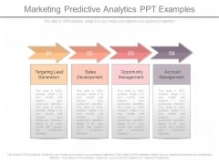 Marketing Predictive Analytics Ppt Examples