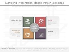 Marketing Presentation Models Powerpoint Ideas