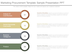 Marketing Procurement Template Sample Presentation Ppt