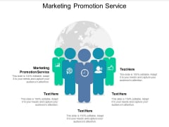 Marketing Promotion Service Ppt PowerPoint Presentation Icon Rules
