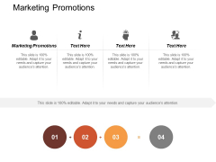 Marketing Promotions Ppt PowerPoint Presentation Professional Good Cpb