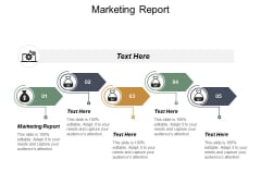 Marketing Report Ppt PowerPoint Presentation Inspiration Cpb