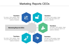 Marketing Reports CEOs Ppt PowerPoint Presentation Layouts Graphics Design Cpb