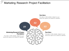 Marketing Research Project Facilitation Ppt Powerpoint Presentation Infographic Template Ideas Cpb