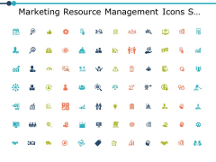 Marketing Resource Management Icons Slide Contd Ppt PowerPoint Presentation Summary Brochure