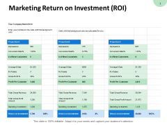 Marketing Return On Investment Roi Investment Ppt PowerPoint Presentation Gallery Styles