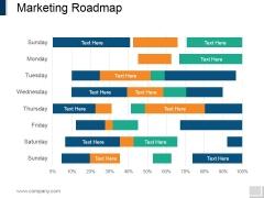 Marketing Roadmap Ppt PowerPoint Presentation Portfolio Ideas