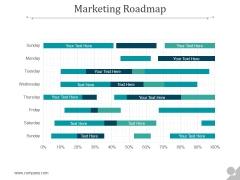 Marketing Roadmap Ppt PowerPoint Presentation Templates