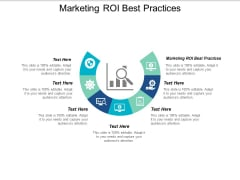 Marketing Roi Best Practices Ppt PowerPoint Presentation Professional Grid Cpb