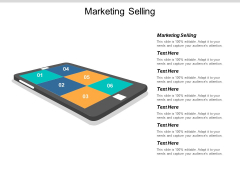 Marketing Selling Ppt PowerPoint Presentation Information Cpb
