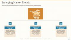 Marketing Strategies For Retail Store Emerging Market Trends Brochure PDF